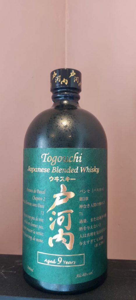 ogouchi Japanese Blended Whiskey bottle