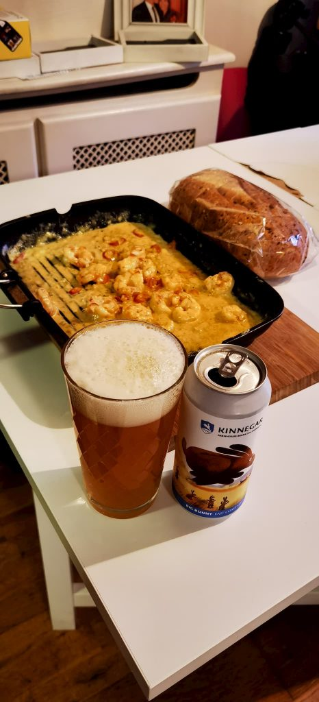 best beer to pair with prawns
